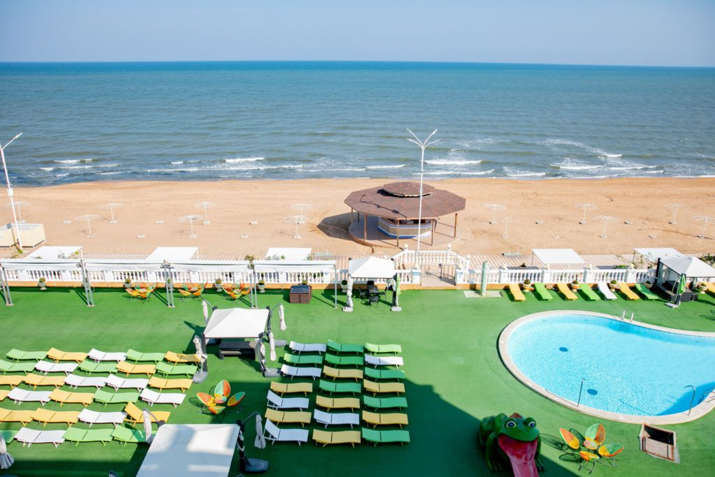 "Пляж ""Golden Beach"", г.Дербент."